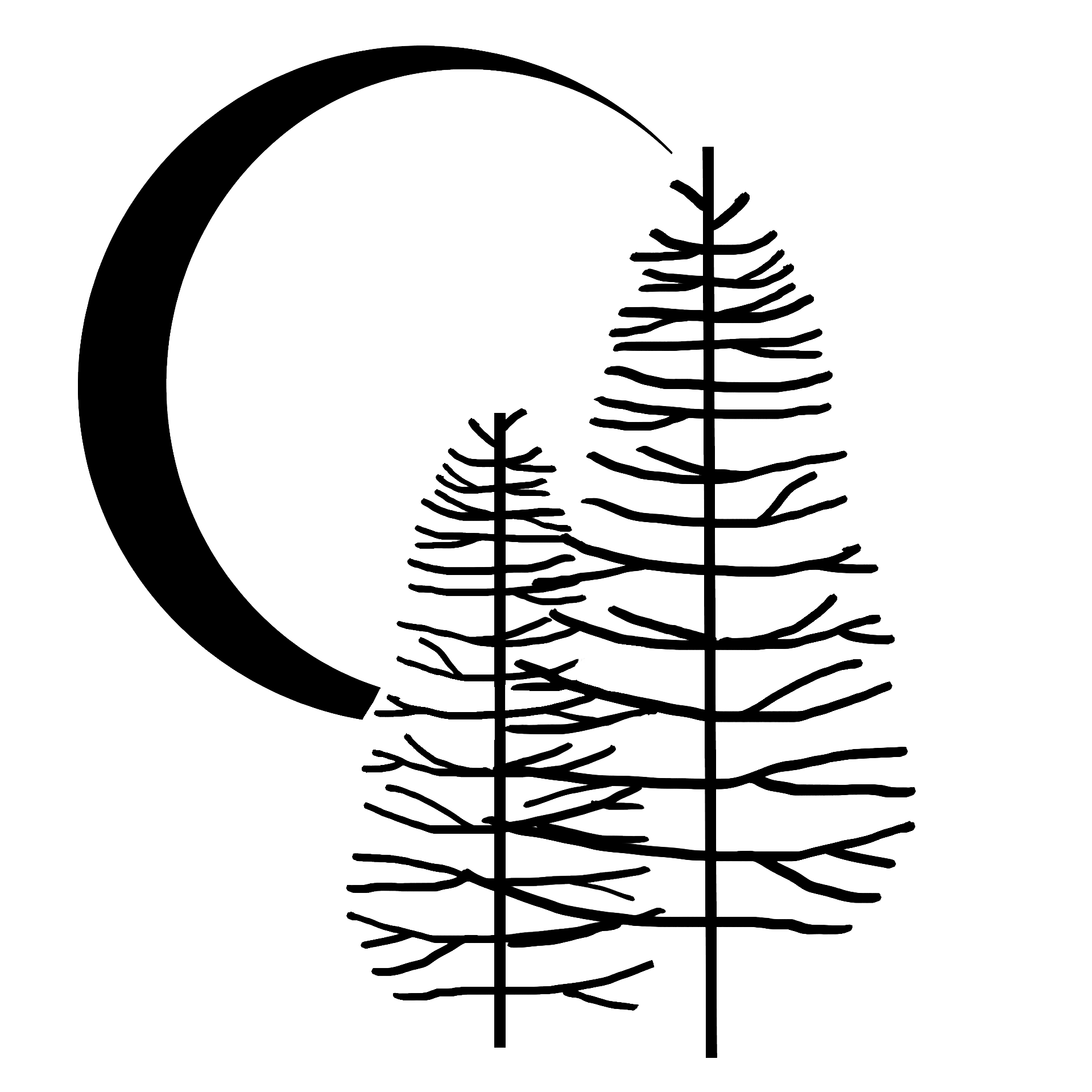 Pine & Moon Logo